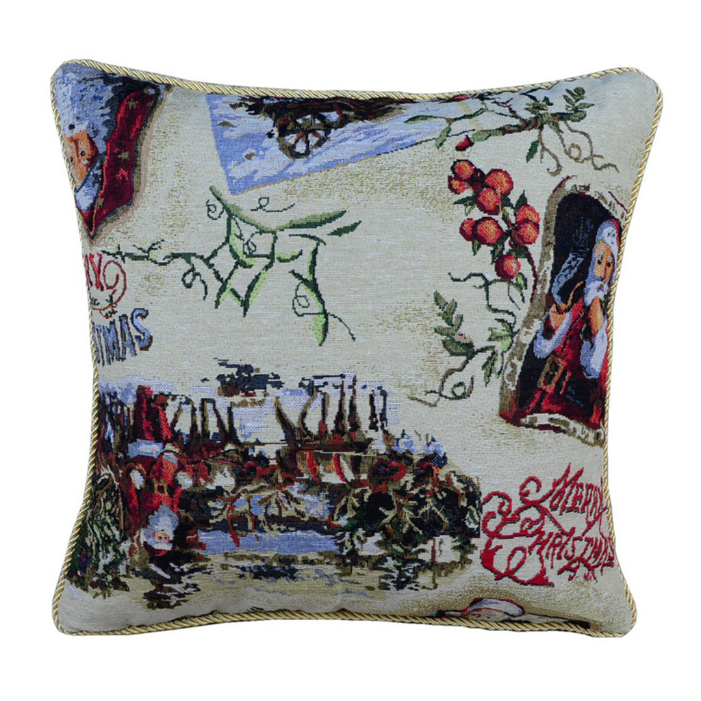 Linen Decorative Throw Pillow case Cushion Cover  34 - Mega Save Wholesale & Retail