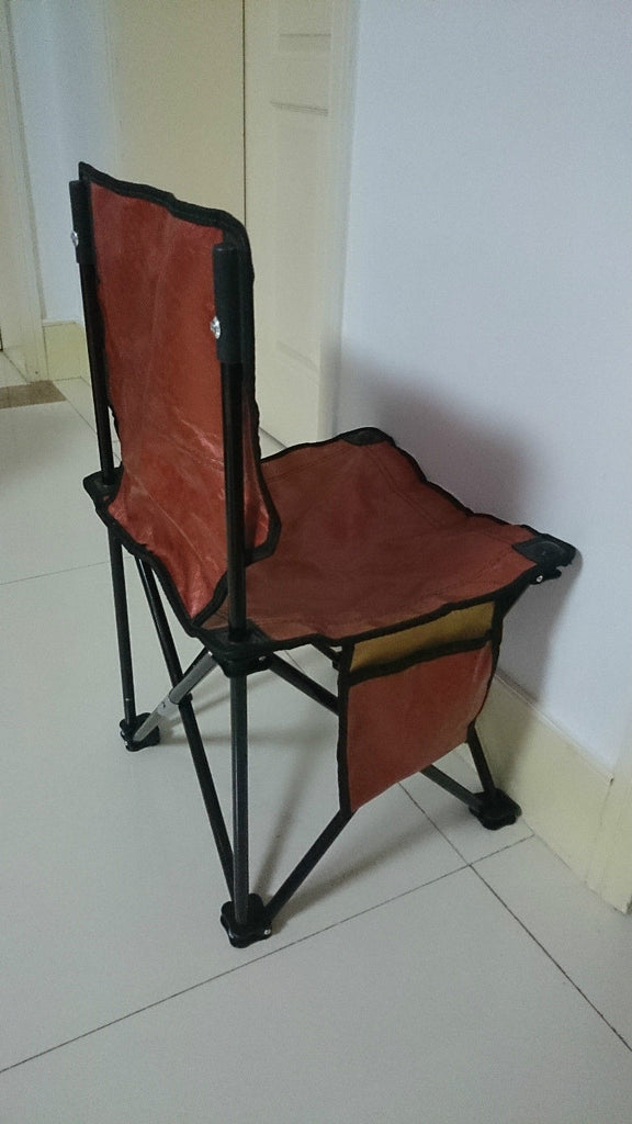 Portable Folding Fishing Drawing Sketch Outdoor Beach Camping Chair Stool Brown - Mega Save Wholesale & Retail - 4