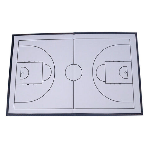 Foldable markers tactics coaching board Basketball Sport strategy board Coaches Tactic Folder - Mega Save Wholesale & Retail - 1