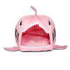 Shark Mouth Shape Pets House Bed For Dog Cat Small Blue - Mega Save Wholesale & Retail - 3