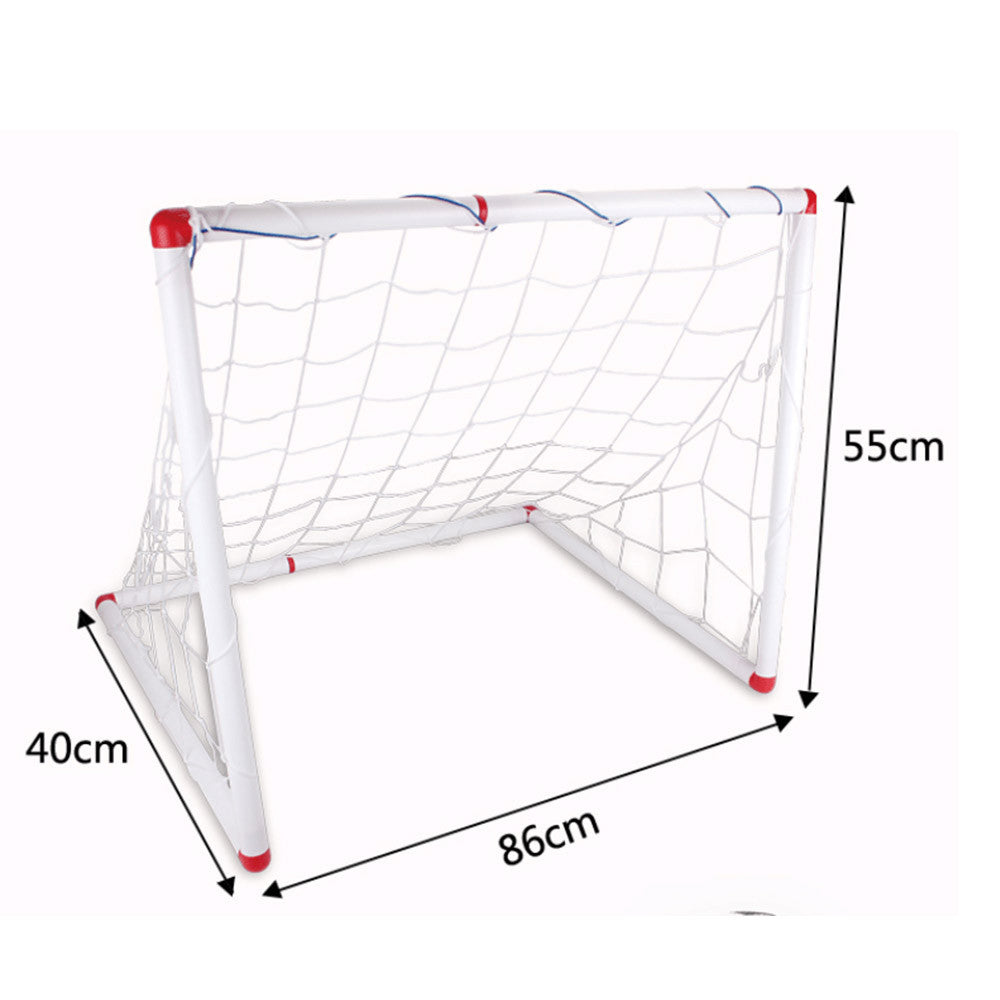 Soccer Goal & Ball Set Air Pump Portable Indoor Outdoor Futbol Child - Mega Save Wholesale & Retail - 1