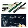 Chalk Board Sticker Wall Black Board Blackboard Vinyl Wall Sticker 45x200cm 5 Chalks - Mega Save Wholesale & Retail - 2