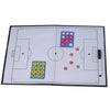 Foldable markers tactics coaching board Soccer/Football Sport strategy board Coaches Tactic Folder - Mega Save Wholesale & Retail - 1