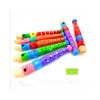 Cartoon wooden flute wooden flute children 6 holed wind instrument piccolo infant educational toys - Mega Save Wholesale & Retail - 2