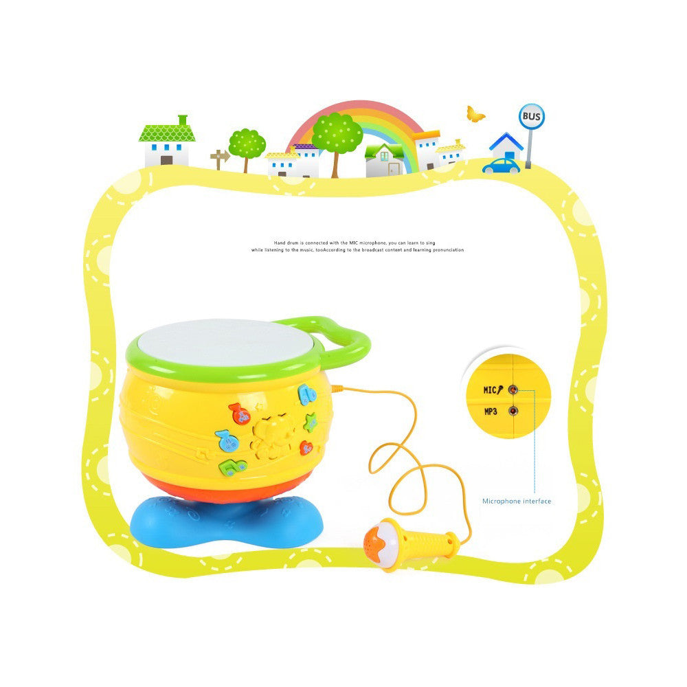Gifted musicians grace with sound and light toys early childhood music drum infant toys early childhood educational toys - Mega Save Wholesale & Retail - 5