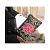 Original Yunnan Featured National Style Embroidery Bag Zipper Cotton Single-shoulder Bag Handbag Messenger Bag     1 - Mega Save Wholesale & Retail - 3