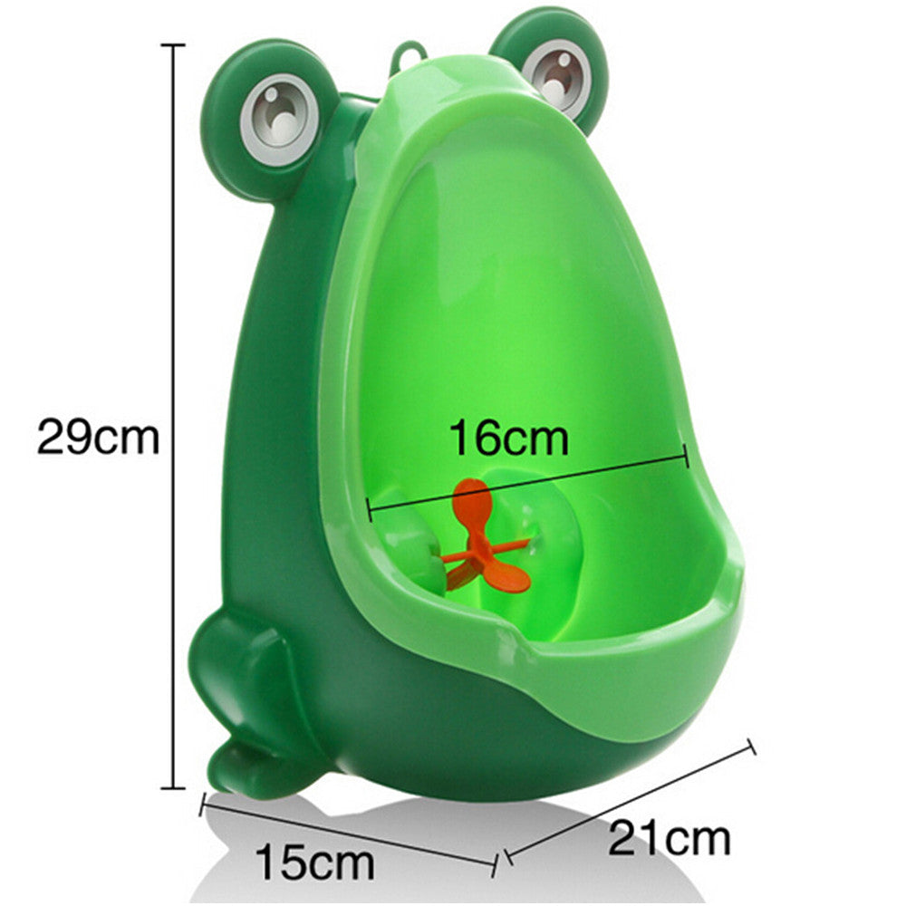 Detachable Frog Potty Pee Urine Training Infant Kids Urinal With Aiming Target 4 Colors   blue - Mega Save Wholesale & Retail - 4
