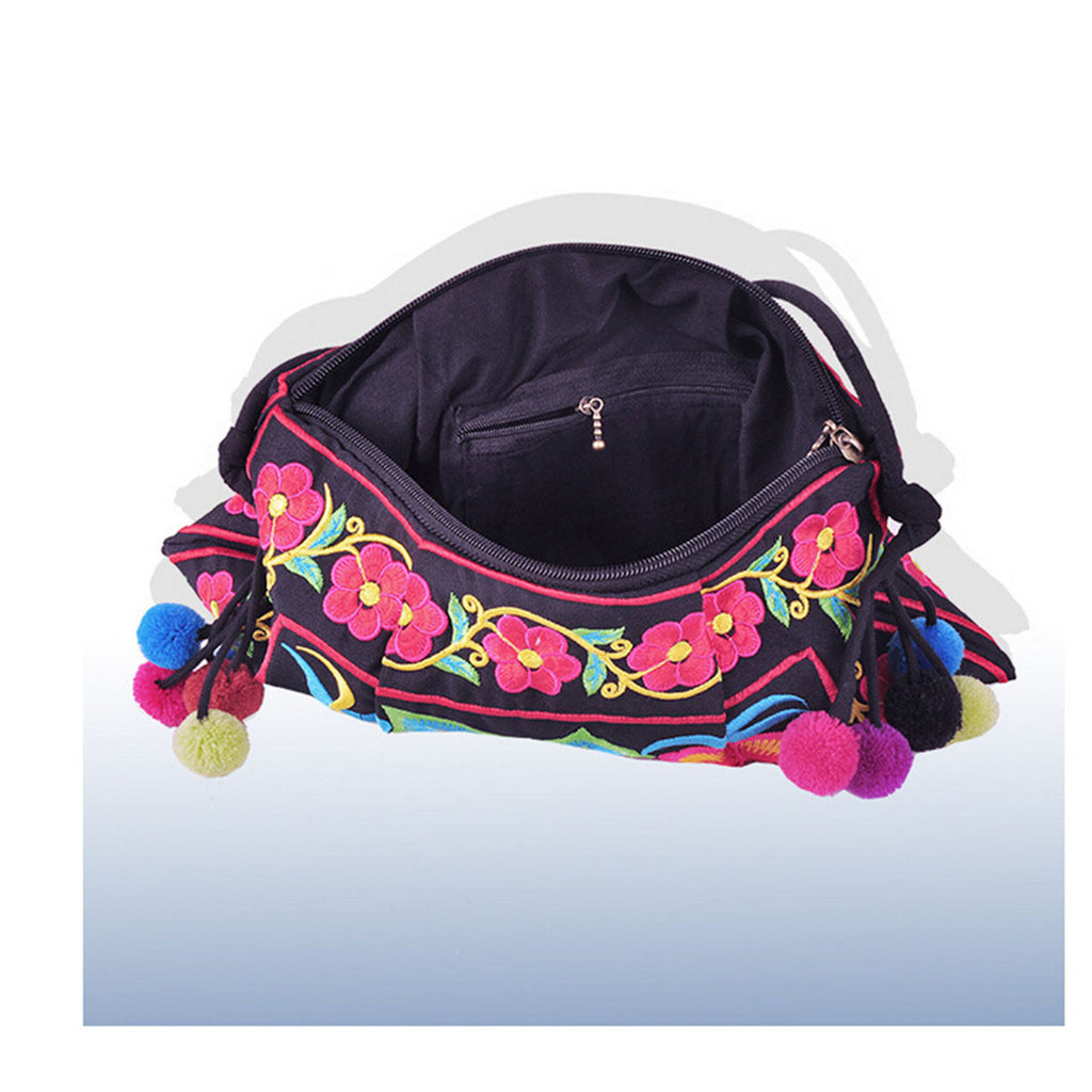 Embroidery Bag Yunnan National Chinese Style Embroidery Featured Messenger Bag Foreign Trade Bag Mmorning Glory - Mega Save Wholesale & Retail - 3
