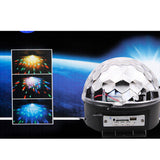 Disco DJ Effect Stage Lighting RGBOWP LED Mp3 Bluetooth Magic Crystal Ball Light 110V - Mega Save Wholesale & Retail - 3