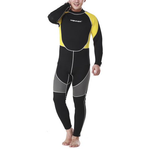 3mm Man Long Sleeve Wet Type Diving Suit Wetsuit - Mega Save Wholesale & Retail - 1