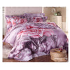 Cotton Active floral printing Quilt Duvet Sheet Cover Sets  Size 40 - Mega Save Wholesale & Retail