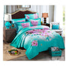 Cotton Active floral printing Quilt Duvet Sheet Cover Sets  Size 45 - Mega Save Wholesale & Retail