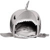 Shark Mouth Shape Pets House Bed For Dog Cat Small Blue - Mega Save Wholesale & Retail - 4