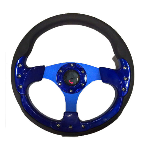 13in Alloy Auto Steering Wheel Racing sport Style - Mega Save Wholesale & Retail