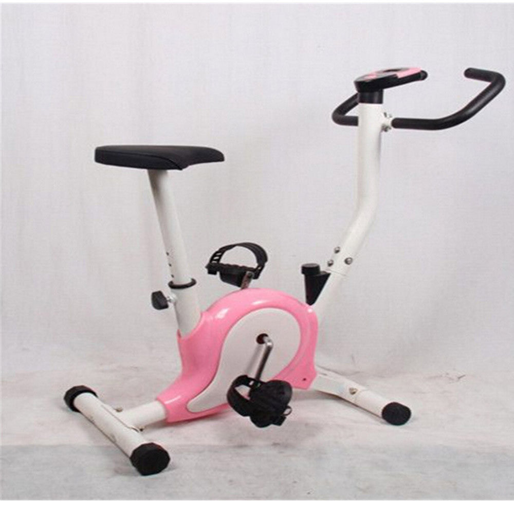Home Gym Portable Upright Stationary Belt Exercise Fitness Bike Cycle Bicycle - Mega Save Wholesale & Retail - 4