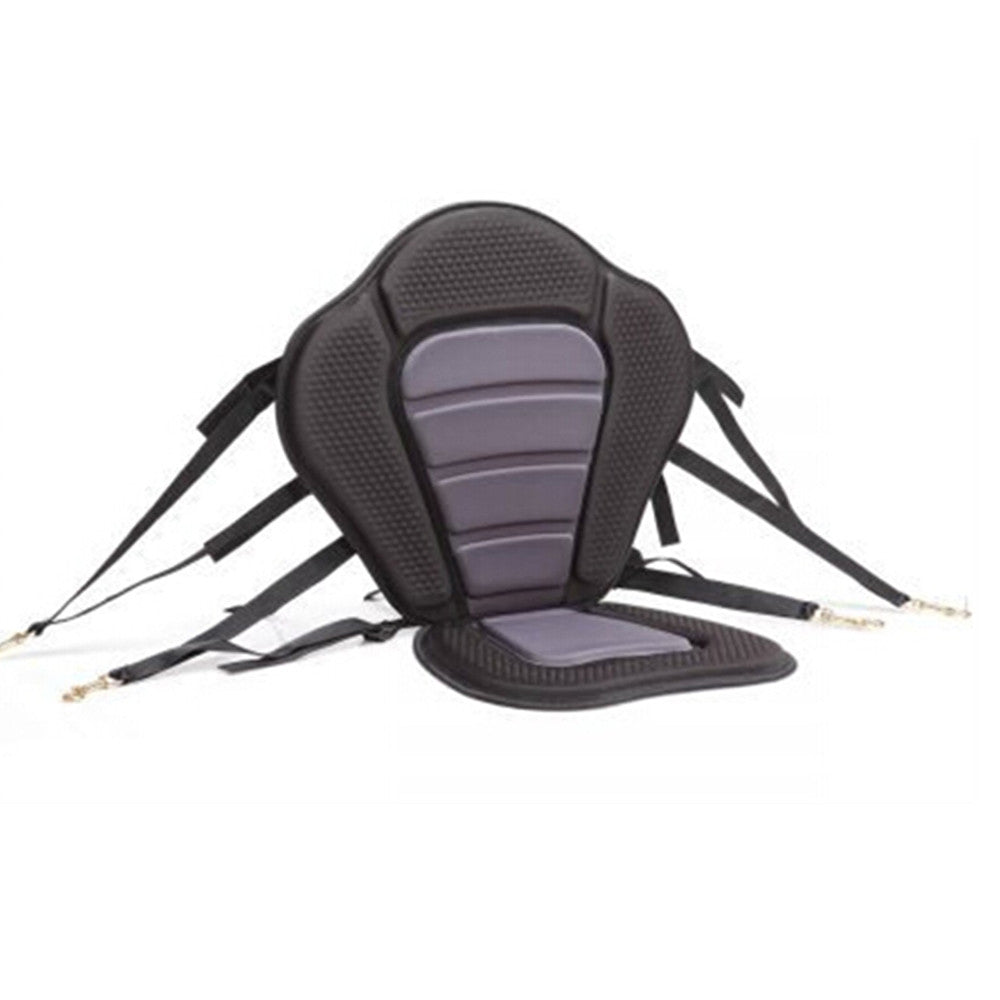 Adjustable Padded  Kayak Seat Deluxe with Straps & Brass Snap Hooks - Mega Save Wholesale & Retail