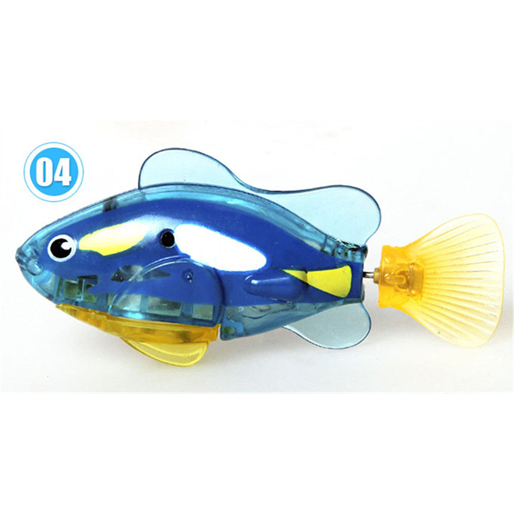 Happy fish magical music Turbot lighting electronic pet fish clown fish shark   01 - Mega Save Wholesale & Retail - 4