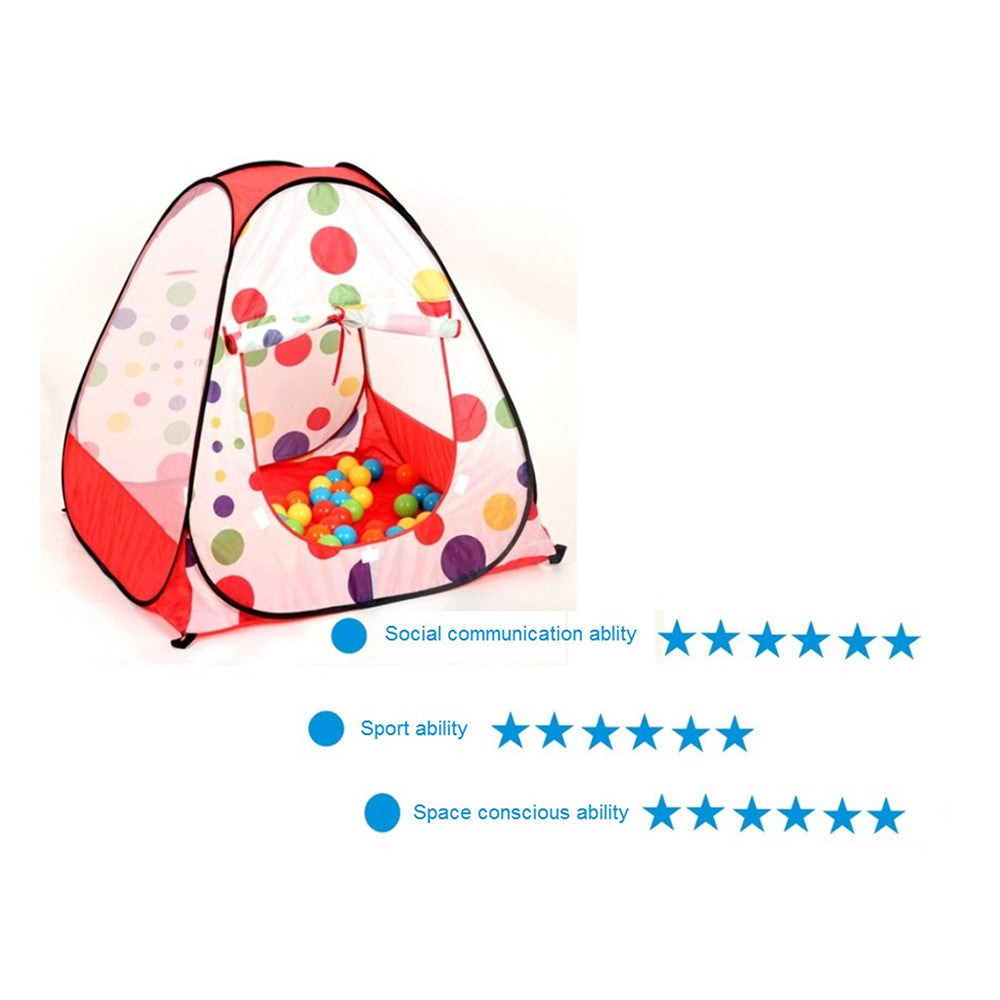 Children's Tent game pool game house dollhouse ocean outdoor paradise baby ocean ball pool ball birthday gift - Mega Save Wholesale & Retail - 4