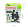 Education Toy Microscope Set Kids and Student Science Library Tools Boys and girls Black - Mega Save Wholesale & Retail - 5