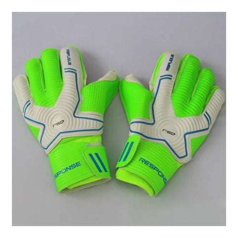Adult Goalkeeper Gloves Roll Finger Latex   50 green - Mega Save Wholesale & Retail - 1