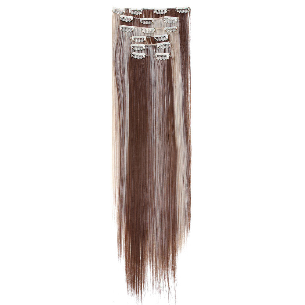 Wig Straight Hair Extetion 7pcs Suit 55cm     6 - Mega Save Wholesale & Retail - 2