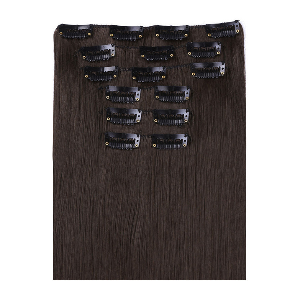 Wig Straight Hair Extetion 7pcs Suit 55cm     6 - Mega Save Wholesale & Retail - 1