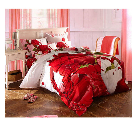 Cotton Active floral printing Quilt Duvet Sheet Cover Sets  Size 57 - Mega Save Wholesale & Retail