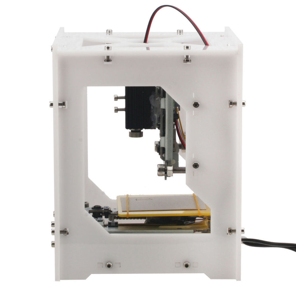 NEJE 300MW USB DIY Laser Engraver & CNC Printer in Milky White Compact Design - Mega Save Wholesale & Retail