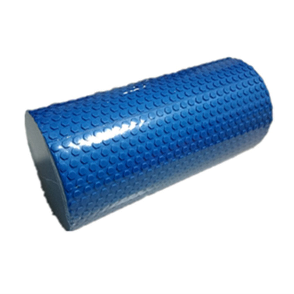 Yoga Gym Pilates EVA Soft Foam Roller Floor Exercise Fitness Trigger 45x14.5cm Blue - Mega Save Wholesale & Retail - 1