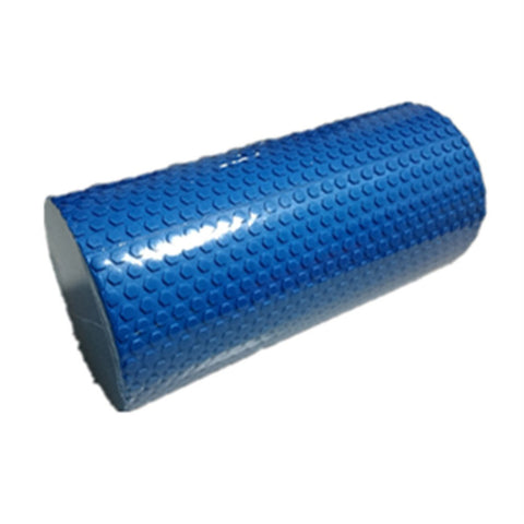 Yoga Gym Pilates EVA Soft Foam Roller Floor Exercise Fitness Trigger 30x14.5cm Blue - Mega Save Wholesale & Retail - 1