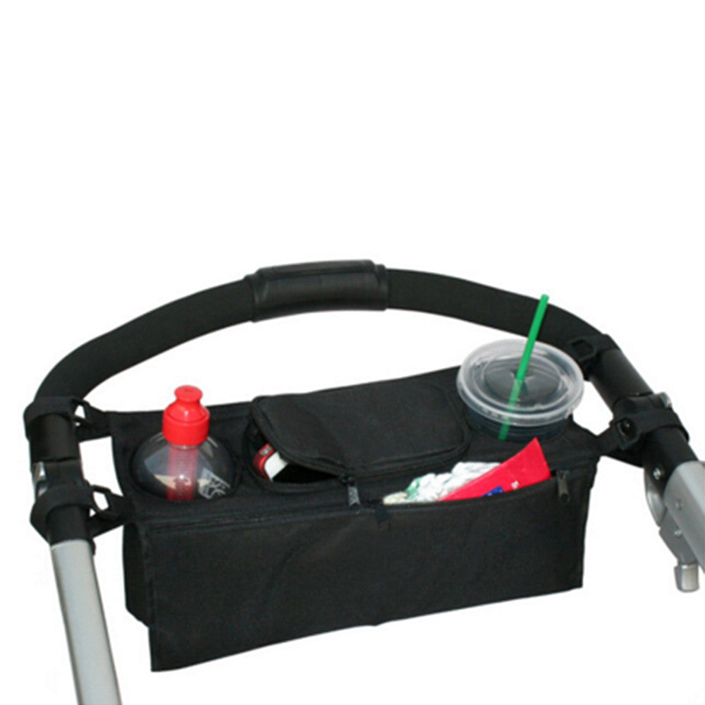 infant cart back tray hang bag cup bag feeder bag usable in stroller - Mega Save Wholesale & Retail - 5