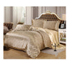 Silk King Queen Double Size Silk Duvet Quilt Cover Sets Bedding Cover Set  02 - Mega Save Wholesale & Retail