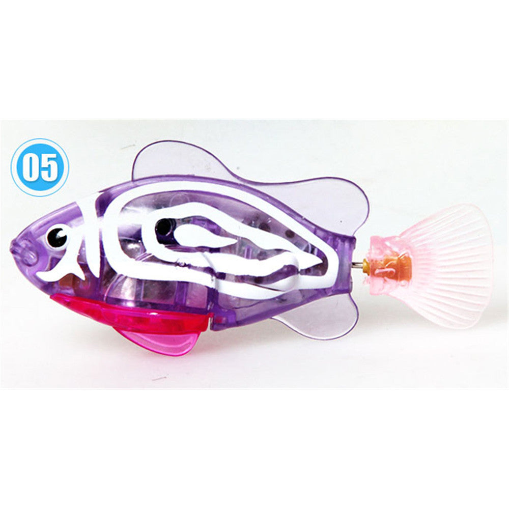 Happy fish magical music Turbot lighting electronic pet fish clown fish shark   01 - Mega Save Wholesale & Retail - 5