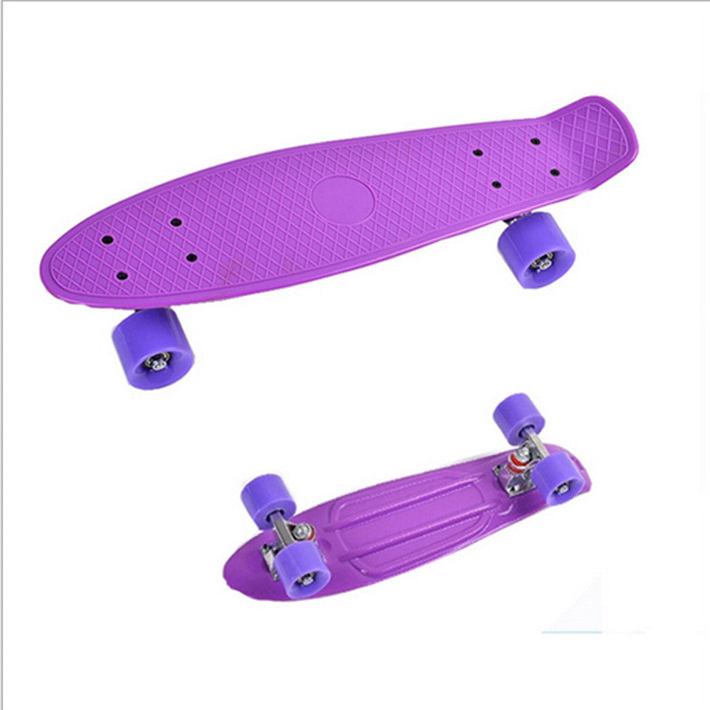 Complete Mini Cruiser Penny Style Skateboard street skate banana plastic Various colours - Mega Save Wholesale & Retail - 2