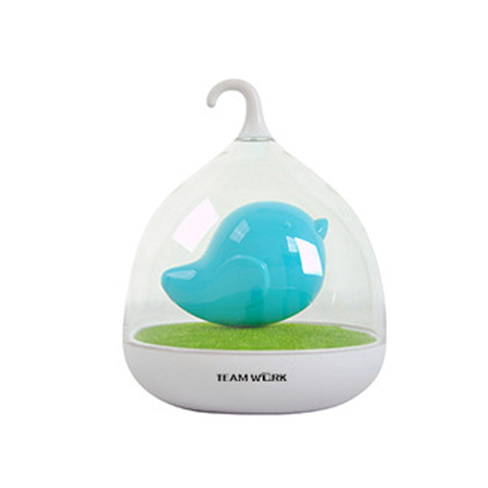 Bird Cage Lamp Touch Lamp Small Night lamp Bird Lantern Cage Lamp Led Light Blue - Mega Save Wholesale & Retail - 1