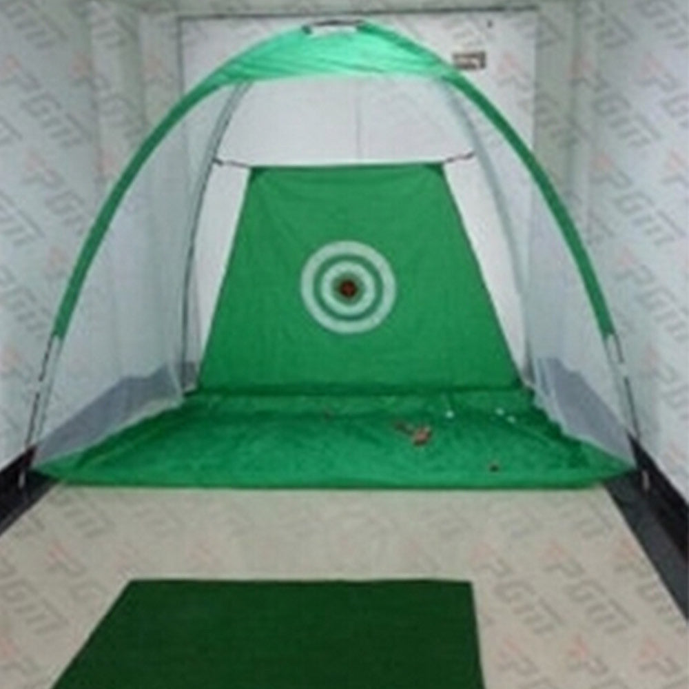 2M Golf Net Practice  Exercises Driving Chipping Soccer Cricket + Mat + 10balls Green - Mega Save Wholesale & Retail - 2