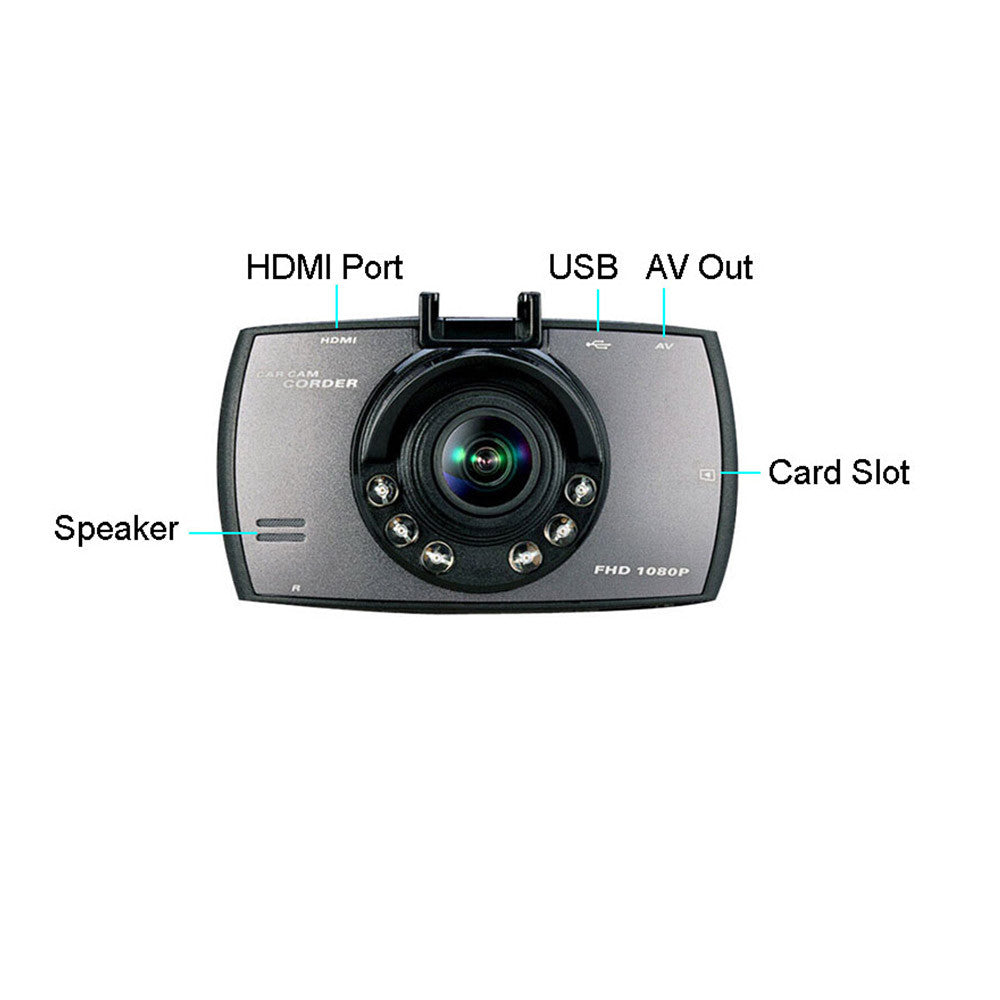 "Car DVR 170¡ãIR Dash Digital Camcorder Camera Video Recorder Night Vision HD 1080P 2.7"" LCD - Mega Save Wholesale & Retail - 5"