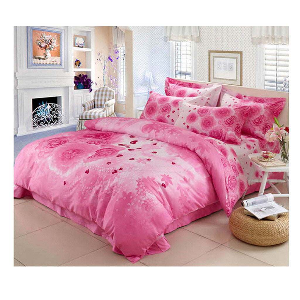 Cotton Active floral printing Quilt Duvet Sheet Cover Sets  Size 69 - Mega Save Wholesale & Retail