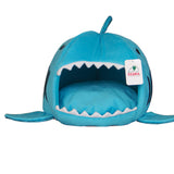 Shark Mouth Shape Pets House Bed For Dog Cat Small Blue - Mega Save Wholesale & Retail - 1