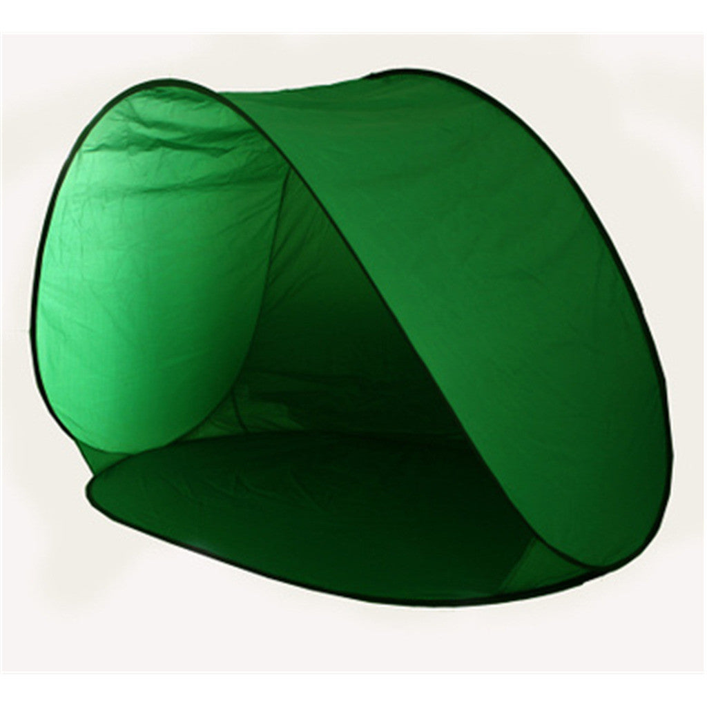 Pop Up Beach Tent Camping Shelter Fold Outdoor Tent Green - Mega Save Wholesale & Retail - 1
