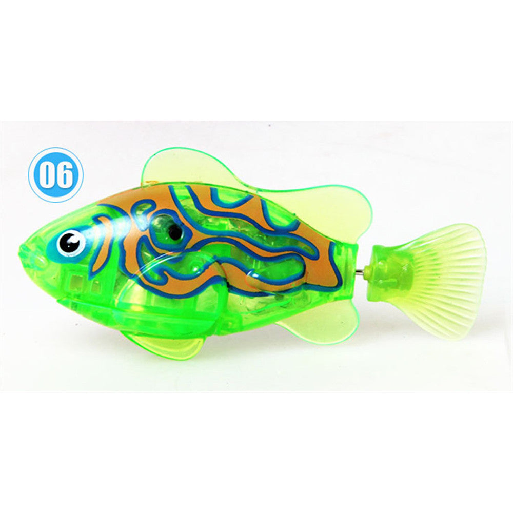 Happy fish magical music Turbot lighting electronic pet fish clown fish shark   01 - Mega Save Wholesale & Retail - 6