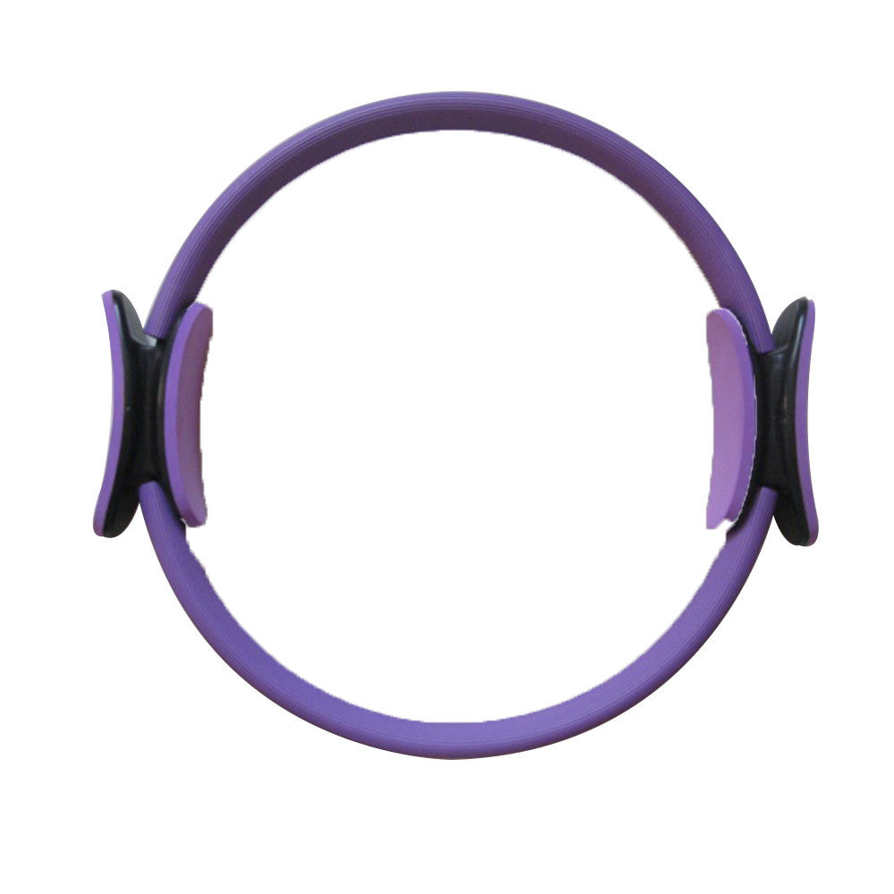 "14"" Black Magic Pilate Ring Circle Magic Exercise Fitness Workout Sport Weight Loss Purple - Mega Save Wholesale & Retail"