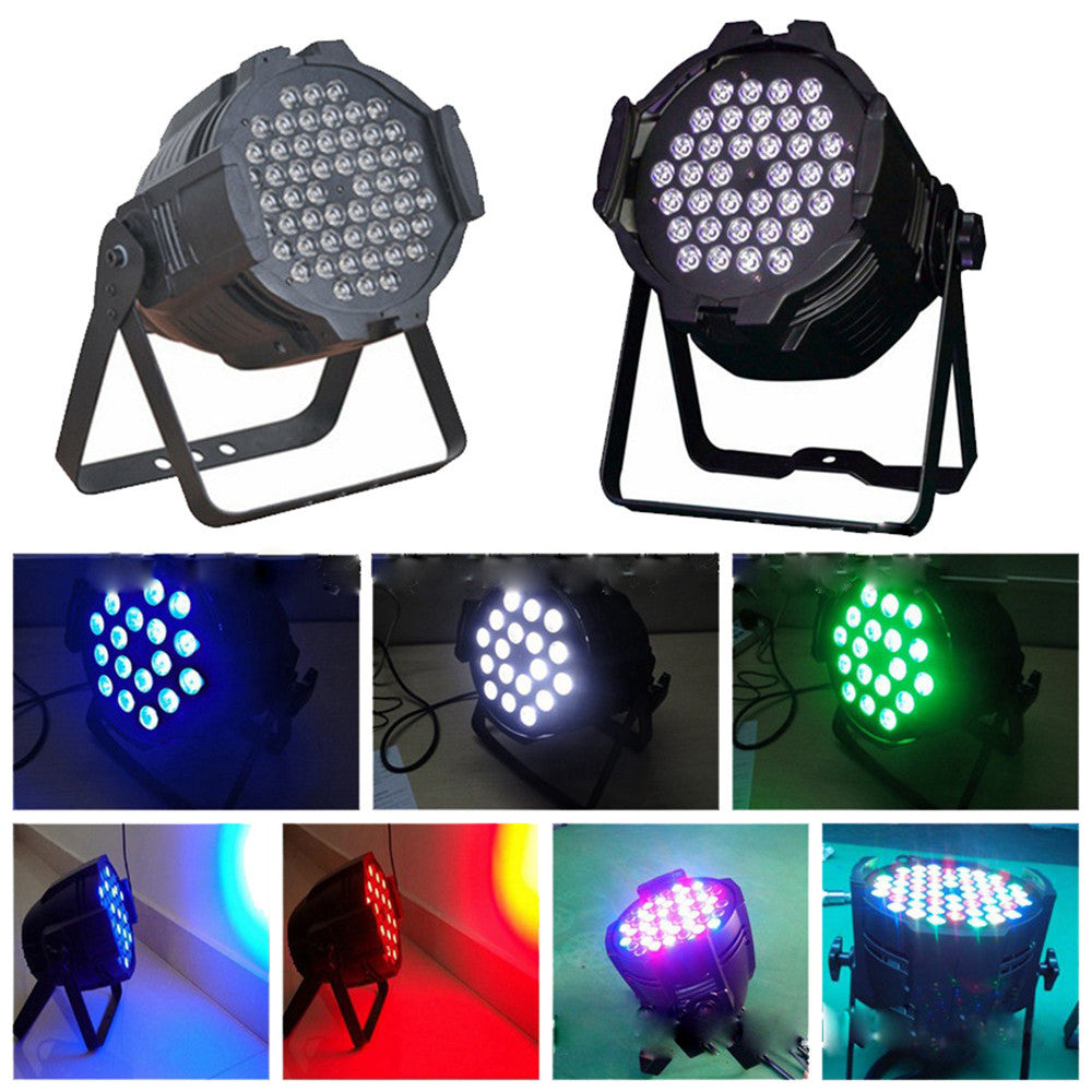 LED54 stars 3w Par wedding wedding show full-color bar lights stage lights Par Four factory direct 220V - Mega Save Wholesale & Retail - 5
