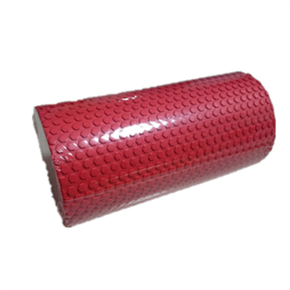 Yoga Gym Pilates EVA Soft Foam Roller Floor Exercise Fitness Trigger 30x14.5cm Red - Mega Save Wholesale & Retail - 1