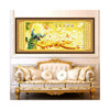 Diamond Painting Diamond Stitch 5D Wealth and Auspacious Living Room Round Diamond Paste Cross Stitch Peacock Magnolia Denudata - Mega Save Wholesale & Retail