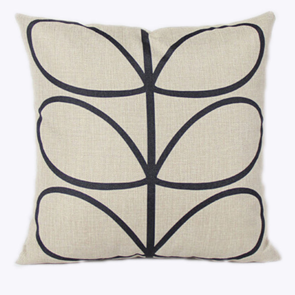 Linen Decorative Throw Pillow case Cushion Cover  80 - Mega Save Wholesale & Retail