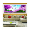 Magic Cube Diamond Painting Full-jewelled Living Room Bedroom Diamond Paste Cross Stitch Romantic Purple Lavender - Mega Save Wholesale & Retail