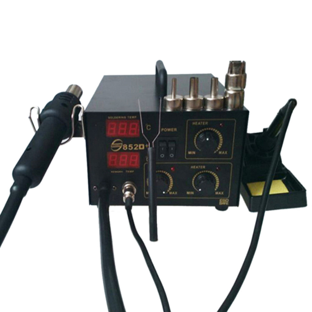 2IN1 SMD HOT AIR REWORK SOLDERING IRON STATION - Mega Save Wholesale & Retail - 2