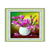 Diamond Painting Ardent Blossom Fragrant Vase 3D Cross Stitch - Mega Save Wholesale & Retail