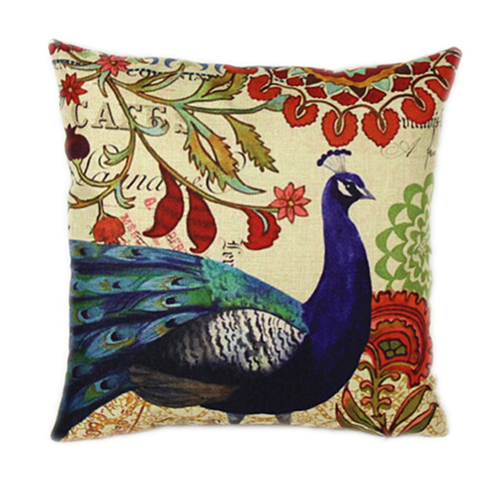 Linen Decorative Throw Pillow case Cushion Cover   88 - Mega Save Wholesale & Retail
